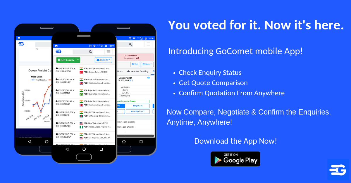 Introducing GoComet Mobile App for Clients!